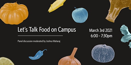 Let's Talk Food on Campus tickets