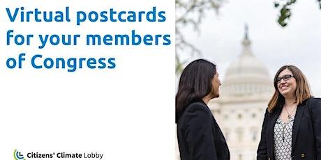 CCL Virginia Virtual Postcards for Congress tickets