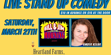 LIVE Stand Up Comedy in Bourbon, MO with Amber Klear tickets