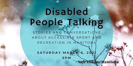 DISABLED PEOPLE TALKING: Stories and Conversation about Accessible Sport an tickets