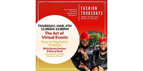 Fashion Thursdays with Kevin Parker & Kerry Scott tickets