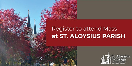 St. Aloysius Sunday Masses tickets