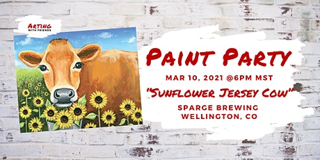 Sunflower Jersey Cow - Sparge Brewing tickets