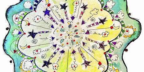 Class 85. Wobbly Mandala: A Wabi-Sabi Approach to Creating Art Tickets