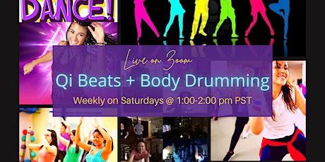 Qi Beats + Body Drumming tickets