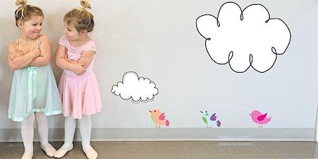 pink petal ballet 2/3yrs (+ grown-up) / mondays mar 29-jun 21/ 10-10:30am tickets