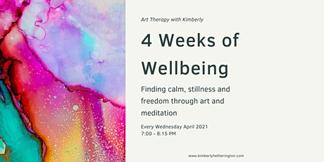 4 Weeks of Wellbeing with Art Therapy & Meditation tickets