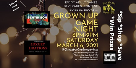 Grown Up Game Night tickets