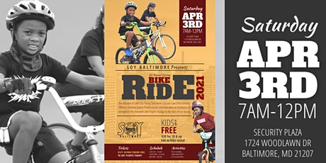 1st Annual Spring Bike Ride tickets