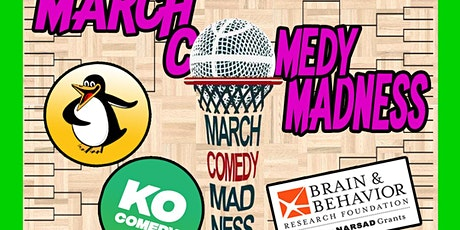 March Comedy Madness for mental illness: Brain & Behavior Research benefit tickets