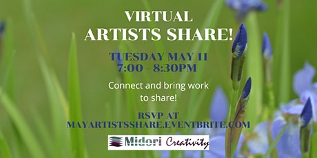 May Artists Share! tickets