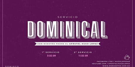 Servicio Dominical | 11:30 A.M. boletos