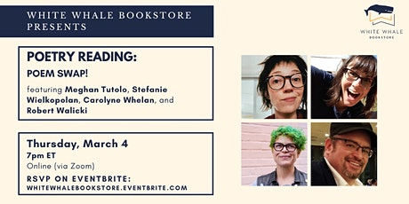 Poetry Reading: Poem Swap w/ Tutolo, Wielkopolan, Whelan, and Walicki tickets
