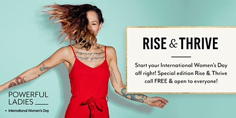International Women's Day Rise & Thrive tickets