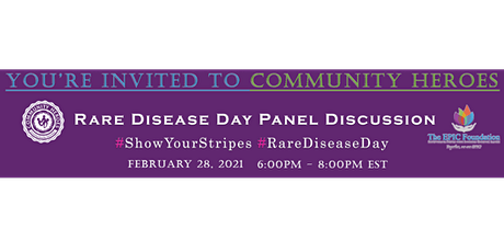 Community Heroes Rare Disease Day Panel Discussion tickets