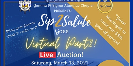 Sip 2 Salute Virtual Auction tickets
