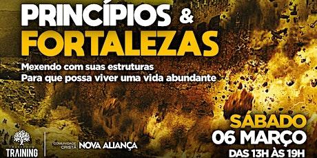 Princípios e Fortalezas - 20/03/2021 ingressos