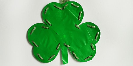 """Shamrock Shapes"" St. Patrick's Day Children's Art Class! by Outbox Designs tickets"