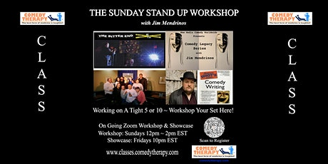 The Sunday Stand Up Workshop with Jim Mendrinos. biglietti
