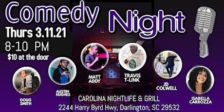 Comedy Night at Carolina Nightlife and Grill tickets