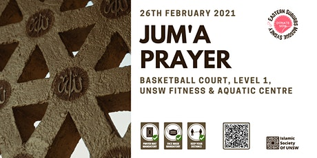 Jum`a (Friday) Prayer by ISOC UNSW: Friday 26th February 2021 at Uni  Gym tickets