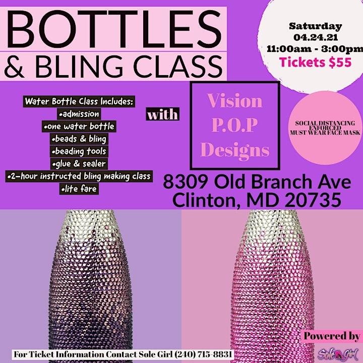 Bottles & Bling Class image