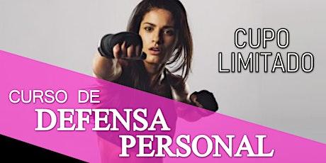 Curso de Defensa Personal Dirigido a Mujeres entradas