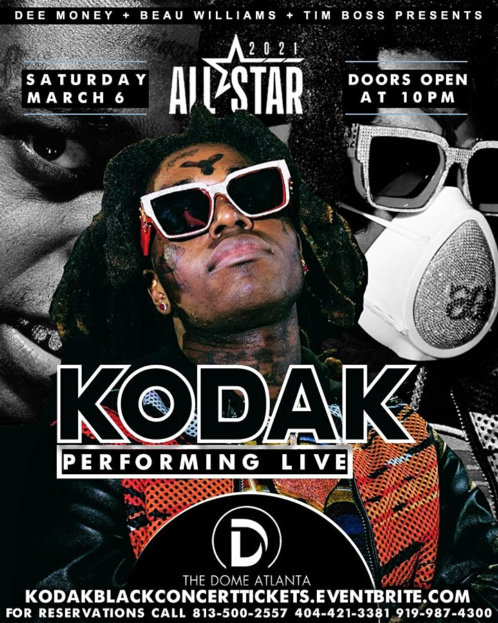 Kodak Black And Friends Concert @The Dome image