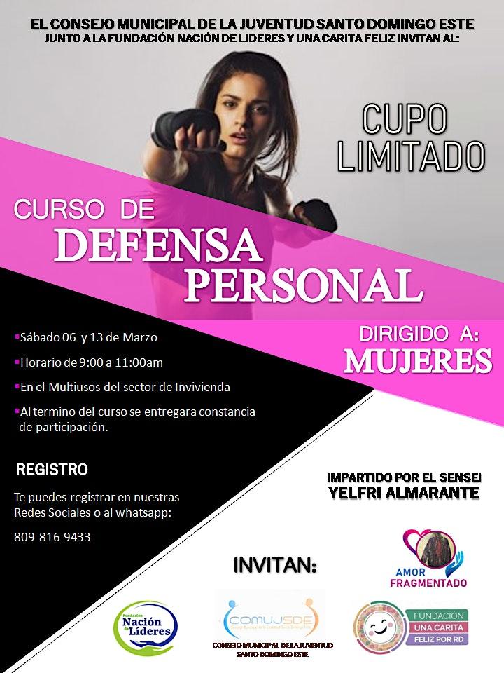 Imagen de Curso de Defensa Personal Dirigido a Mujeres