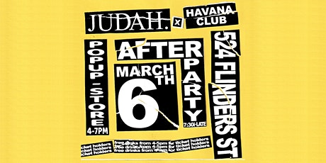 JUDAH. X Havana Club tickets
