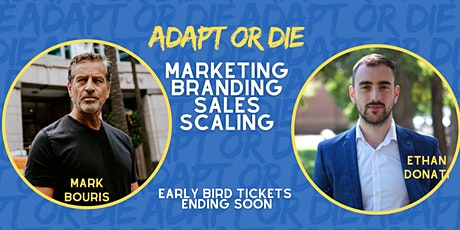 Mark Bouris & Ethan Donati At Adapt Or Die Melbourne tickets