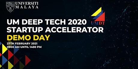 UM DEEP TECH 2020 STARTUP ACCELERATOR DEMO DAY ingressos
