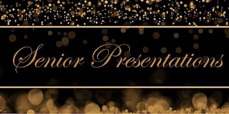 Senior Presentations Summer 2020/21 tickets