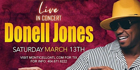 Donell Jones performing live at Monticello tickets