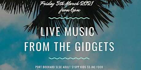 Live Music at The Surf Club tickets