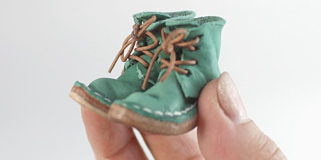 Miniature leather boot making course -Tutor Sarah Van Oosterom tickets