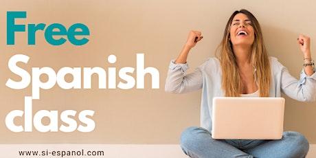 FREE Spanish Lesson - Level 1 & 2 Spanish / Clase de español gratuita entradas