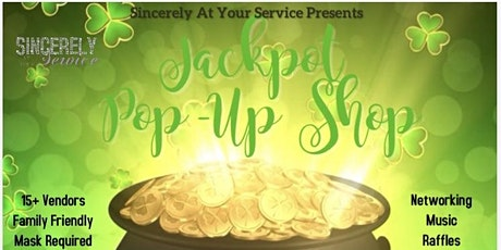 Jackpot Pop-Up Shop tickets