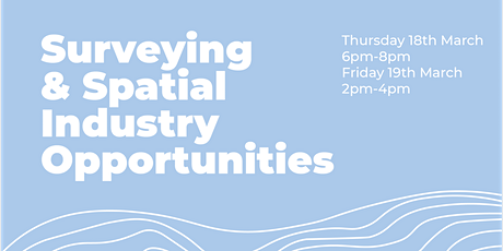GSSA x MUGS present: Surveying & Spatial Industry Opportunities tickets