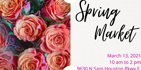 Spring Market - Pop-up Shop tickets