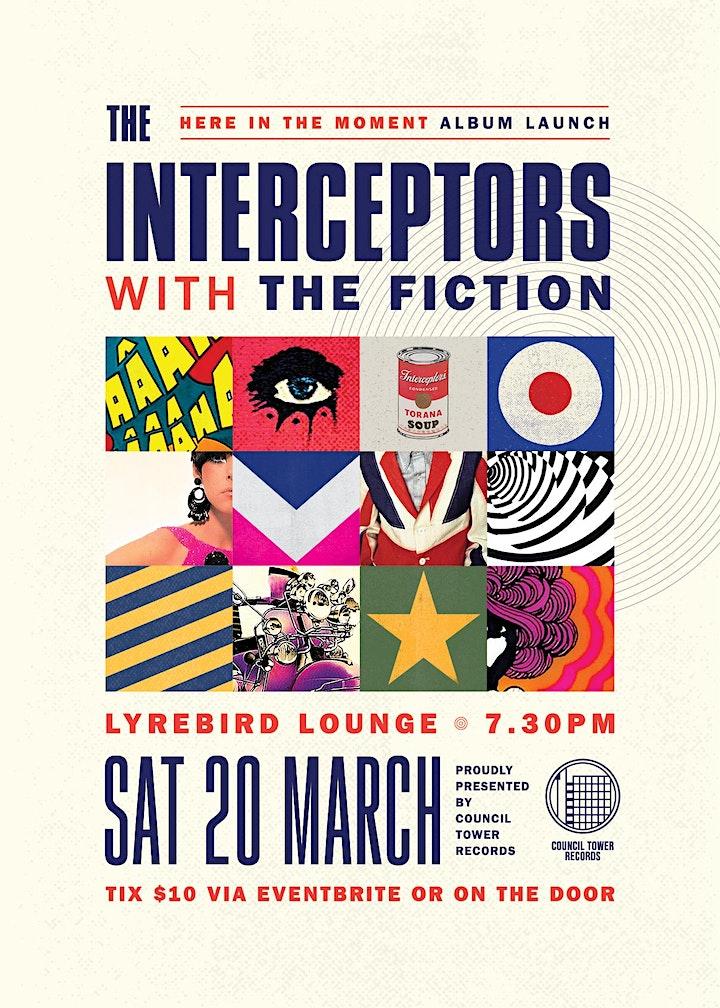 The Interceptors Album Launch image
