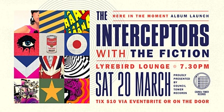 The Interceptors Album Launch tickets