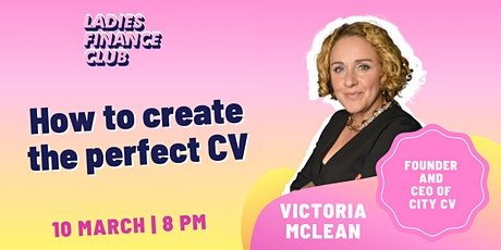 How to Create the Perfect CV tickets