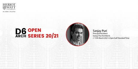 D6 Architecture Open Lecture Series: Sanjay Puri tickets