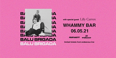 Balu Brigada at Whammy Bar tickets
