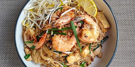 PAD THAI & Chilli Jam - Thai Street Food Online Cooking Class tickets
