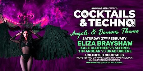 Cocktails & Techno - Eliza Brayshaw tickets