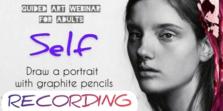 Learn to Draw a Portrait with Pencils - for Adults (recording exp 28thFeb) tickets
