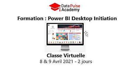 Power BI Initiation - 2 jours - 8 & 9 Avril 2021 billets