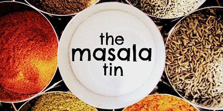 The Masala Tin: Indian vegetarian/vegan cook-along tickets